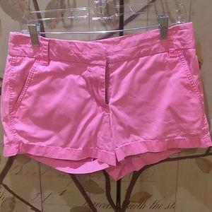J Crew Womens Chino Sz 6 Shorts Flat Front - X32